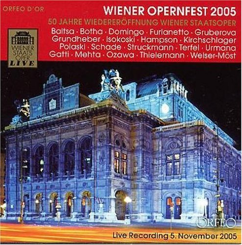 Dynamisch Saalplan Wiener Staatsoper Galerie: Wiener Opernfest 2005